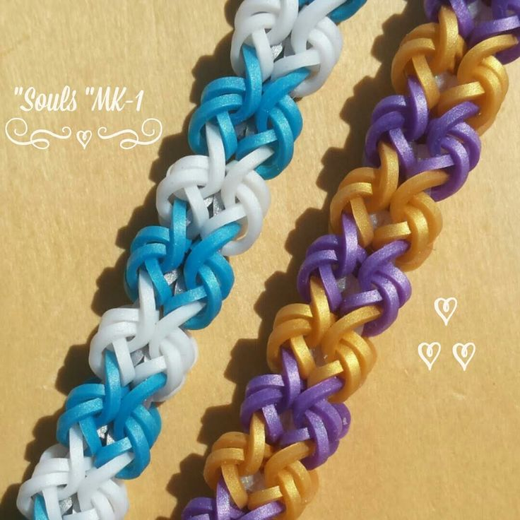 "This is a hooked design. No loom needed. *Zuzu*   New ""Souls"" mk-1  Bracelet/ How To Tutorial"
