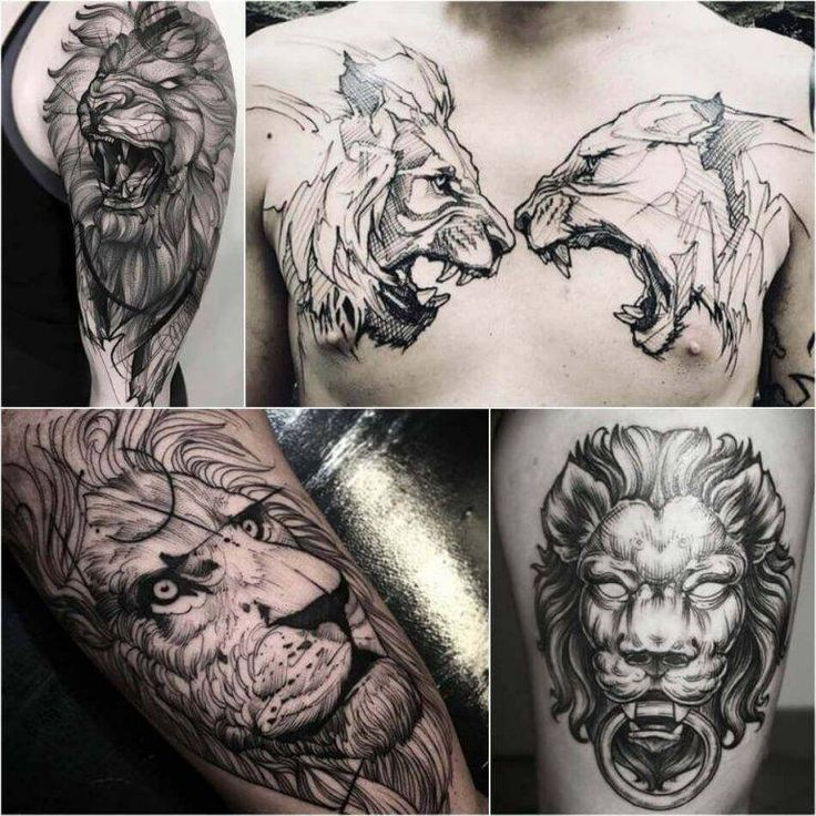 what does a lion tattoo mean