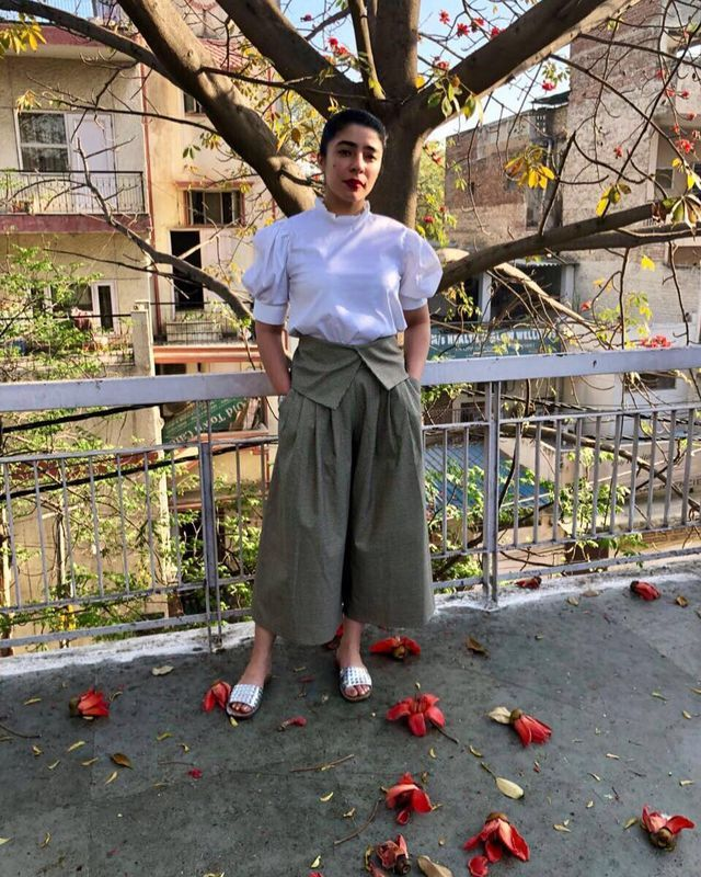 41cf176f065f Best 37 Ideas About How To Wear Culottes With Flats