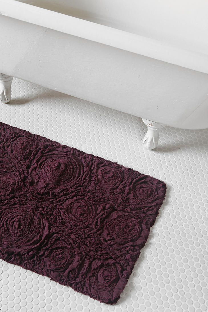 Bathroom carpet sets - Bed Of Roses Bath Mat Urbanoutfitters
