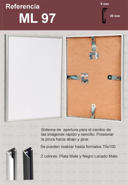Marcos de Aluminio: ML97