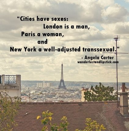 Paris is a woman. #travel