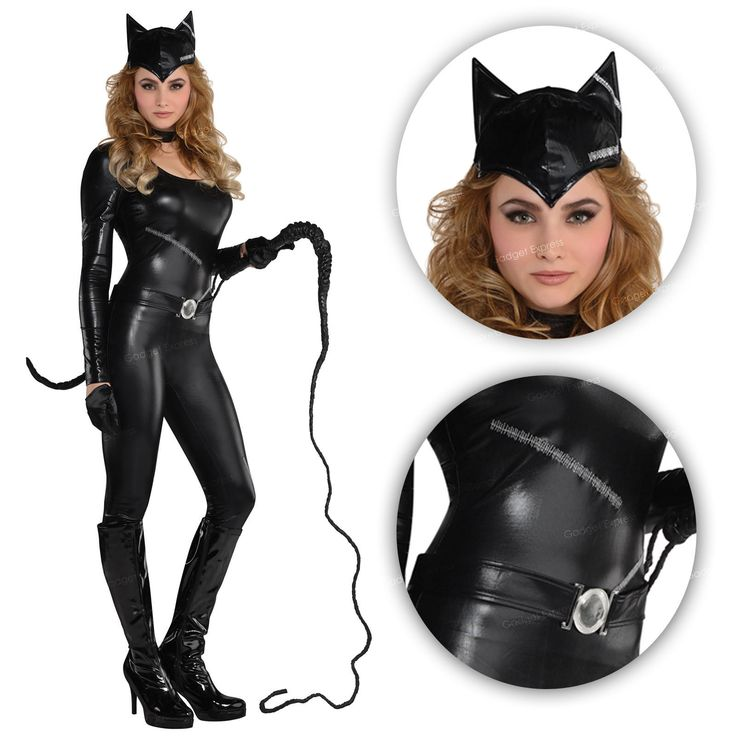 Catwoman catsuit dark fancy #dress superhero cat woman #halloween #comic costume ,  View more on the LINK: 	http://www.zeppy.io/product/gb/2/152011924869/