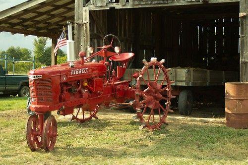 Farmall H On Steel Wheels Amish : Farmall h steel wheel tractor tractors pinterest