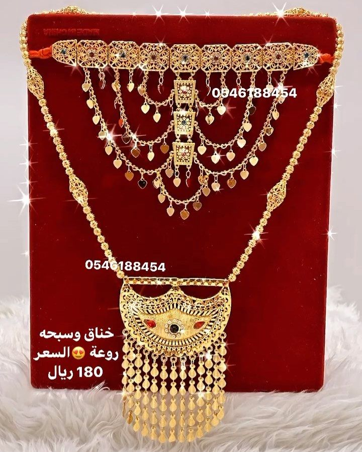 مجوهرات بديل الذهب On Instagram طقم مطليه بماء الذهب عيار 21 السعر 180 ريال 0546188454 ذهب ذهب سعودي مجوهرات بديل الذهب Gold Jewelry Gold Jewelry