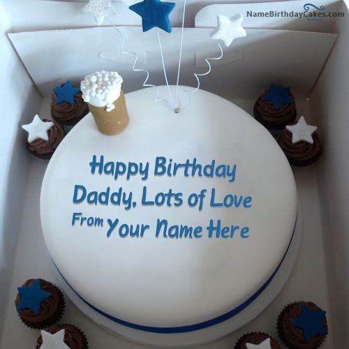 Birthday Cake - Happy Birthday Wishes  Name Birthday Cakes For Father ...