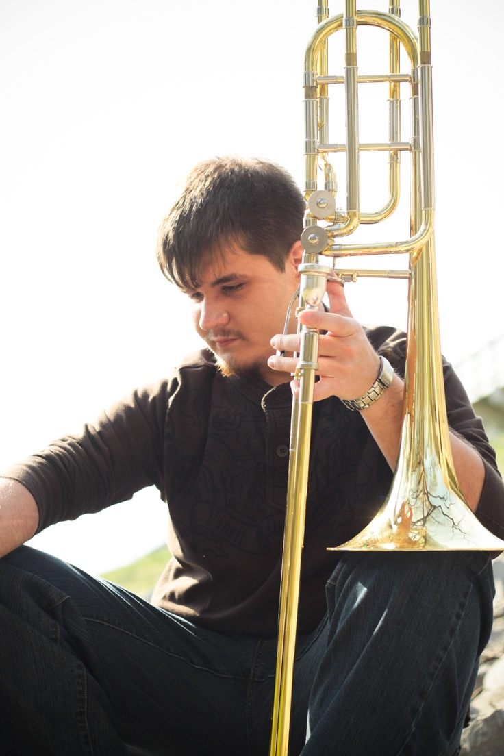 ...was a handsome bass trombone player in high school
