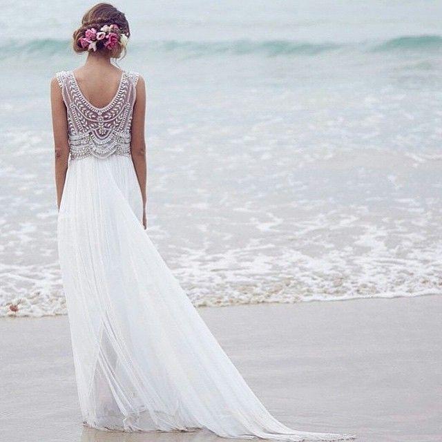 bröllopsklänning till strandbröllop - Sök på Google