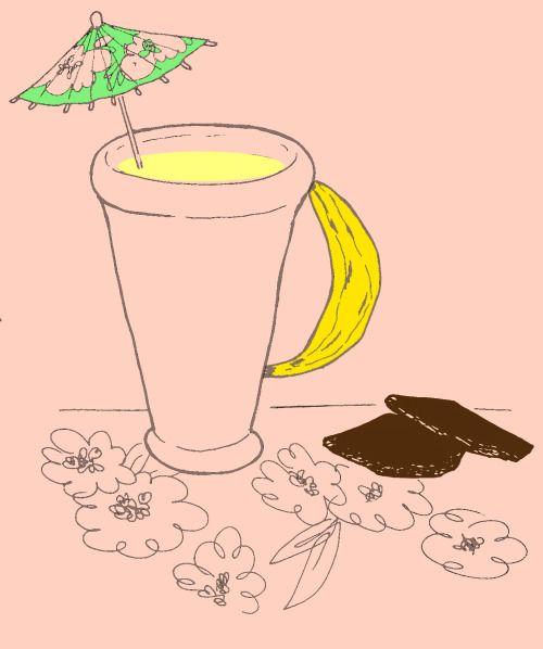 Frullato alla banana   Uno spuntino semplice, gustoso e sostanzioso, ottimo a metà mattina o al pomeriggio, ma anche per la prima colazione. Accompagnato da qualche quadretto di cioccolato fondente diventa una merenda squisita e di gran lusso (oltre che, per noi signore, un valido alleato contro la sindrome premestruale dato che la banana è ricca di potassio e il cioccolato fondente di magnesio).Io per farlo metto nel frullatore:1 banana intera3/4 di bicchiere di latte freddoun paio di…