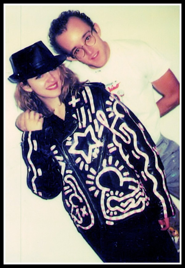 MADONNA & KEITH HARING WERE THE EPITOME IN 1985!