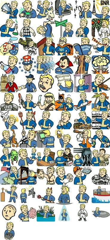 All the Fallout perks or achievements.. Can't tell - Vault Boy