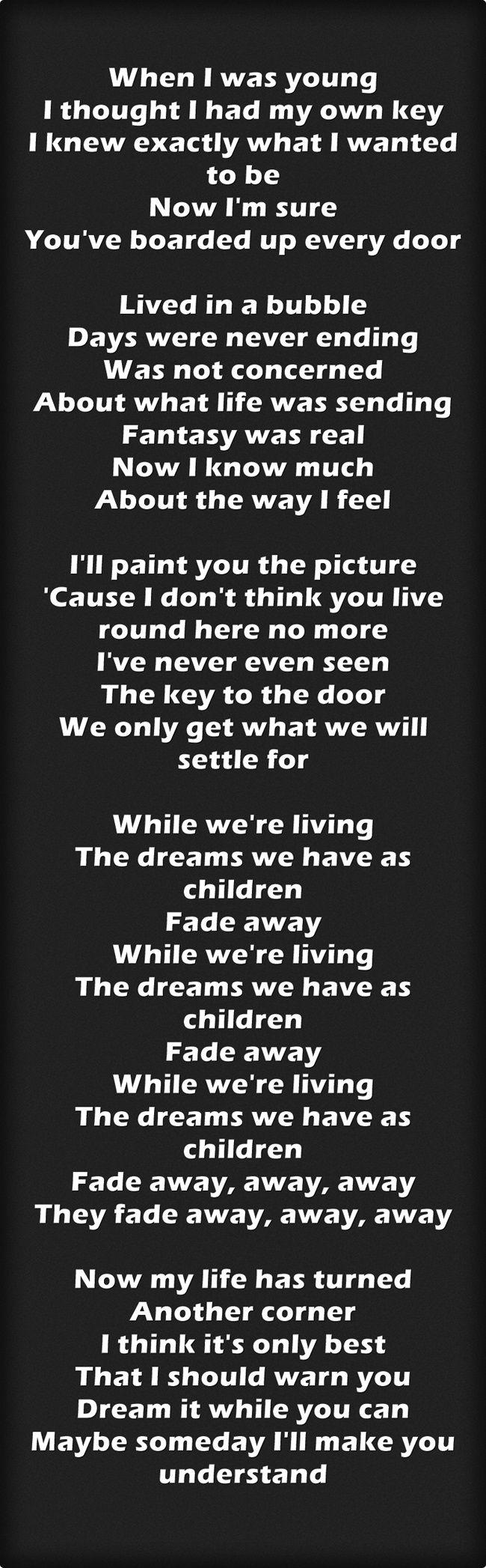 Fade Away - Oasis