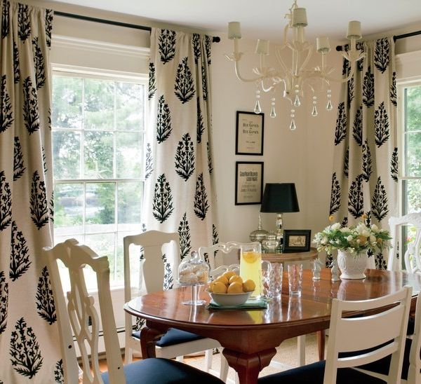 Driven By Dcor 20 Rule Of Thumb Measurements For Decorating Your Home Love These Curtains Dining Room