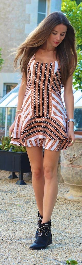 short boots & dress. #Africanfashion #AfricanWeddings #Africanprints…