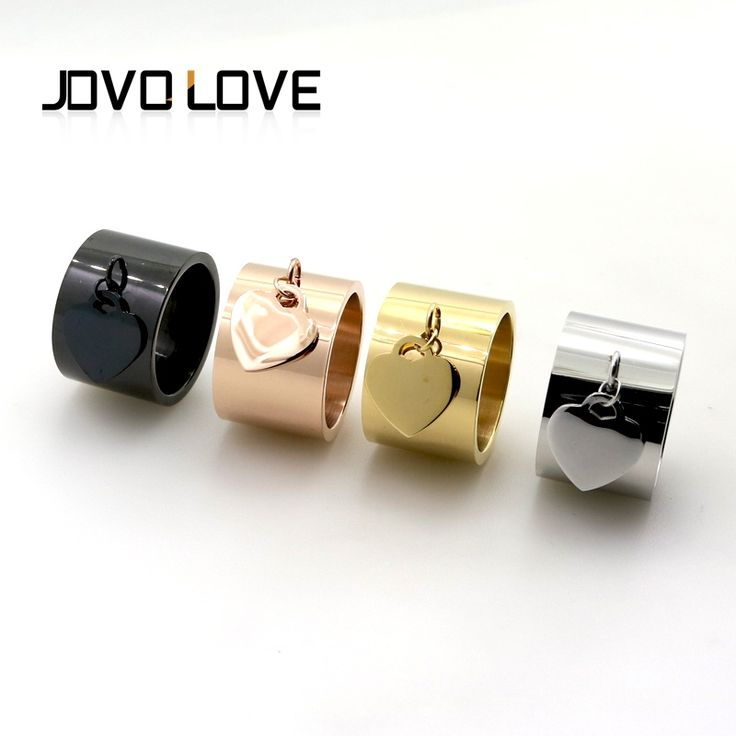 Find More Rings Information about 2017 Fashion Luxury Brand Jewelry Love Rings Female Gold Plated Peach Heart Tag Ring For Women 15mm Wide Anillos Aneis Bijioux,High Quality love ring,China brand rings for women Suppliers, Cheap fashion rings for women from MSX Fashion Jewelry on Aliexpress.com
