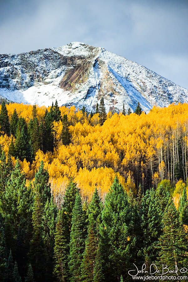 ***Under the snow capped peaks (Kebler Pass, Colorado) by John De Bord Photography on 500px