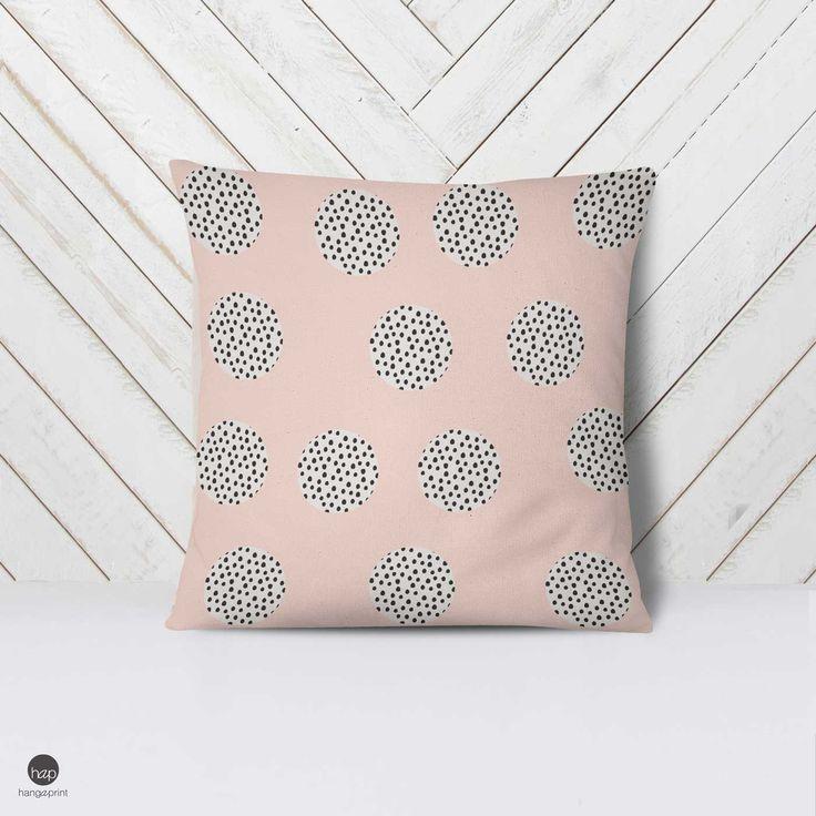 Blush Pink Pillow Cover, Blush Nursery, Nursery Set Pillow, Girls Modern Bedding, Modern Nursery Bedding, Pale Pink, Baby Blue Pillow Gift by hangAprint on Etsy