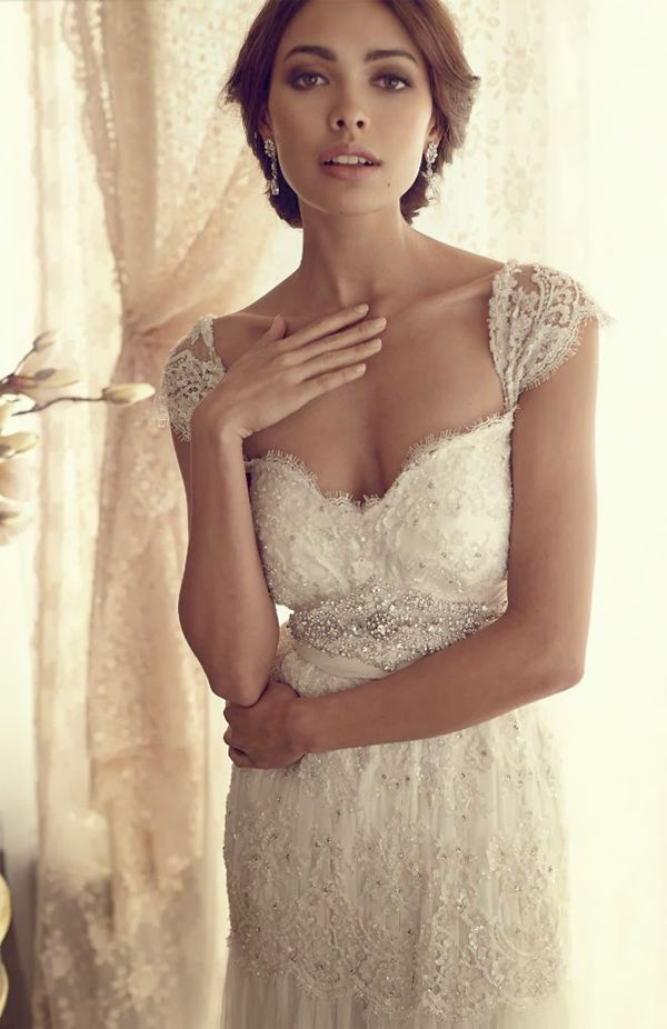 155 best vestidos de novias images on Pinterest | Wedding frocks ...