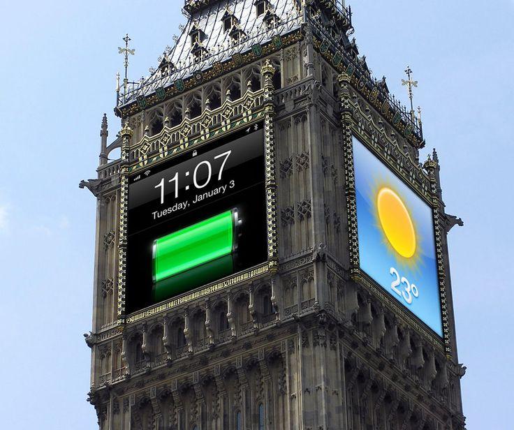 革新的で魔法のようなビッグベン、そうiPhoneのようにね : きよおと-KiYOTO