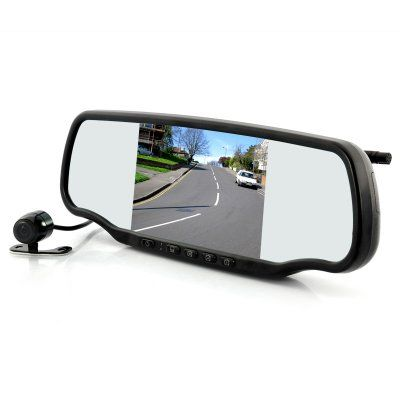 Car Rear view Mirror with Dashcam