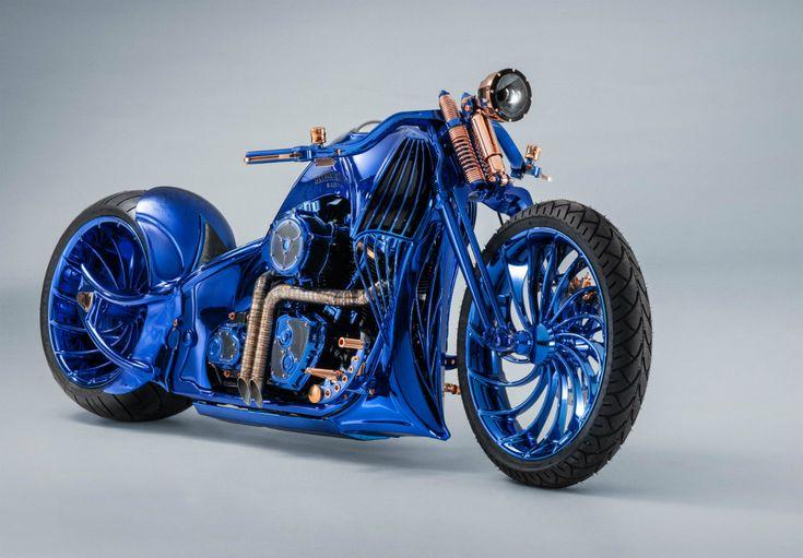 Harley-Davidson Blue Editions : la moto la plus chère du monde