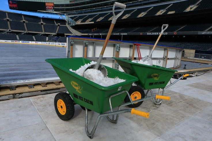 Stadium Series Rink at Soldier Field - 02/24/2014 - Chicago Blackhawks - Player Appearances & Events Photo Gallery