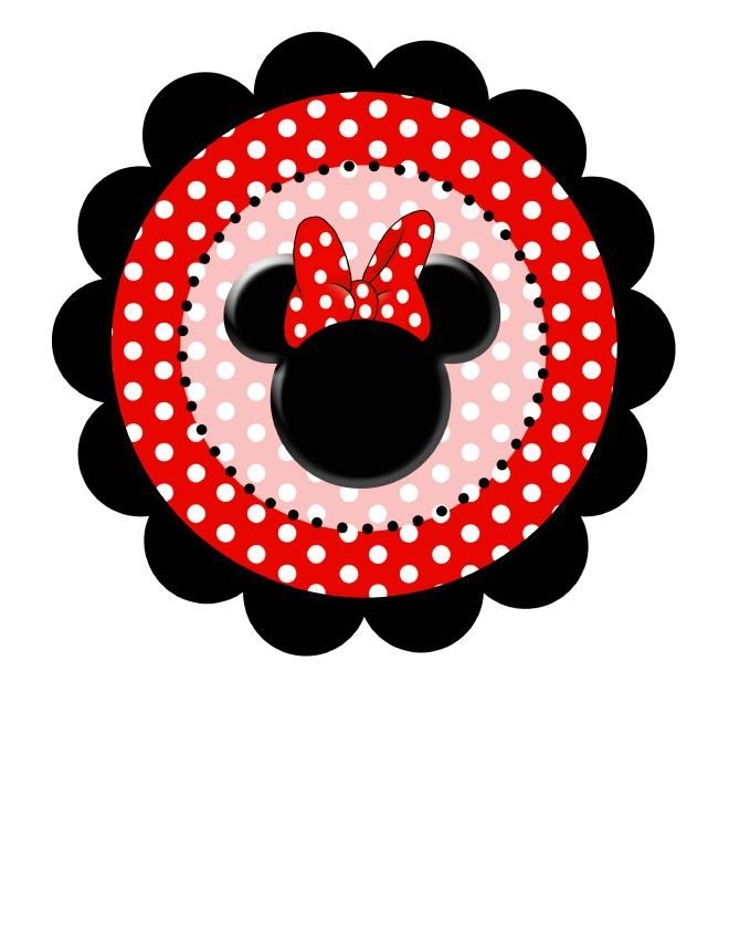 Polka Dot Minnie Red.jpg capesante Circle