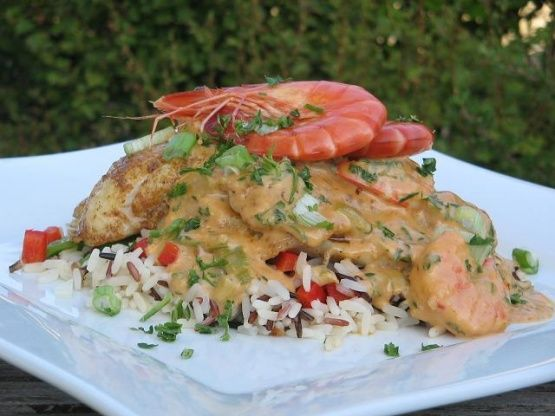 Cajun catfish supreme can substitute trout or even for Substitute for fish food