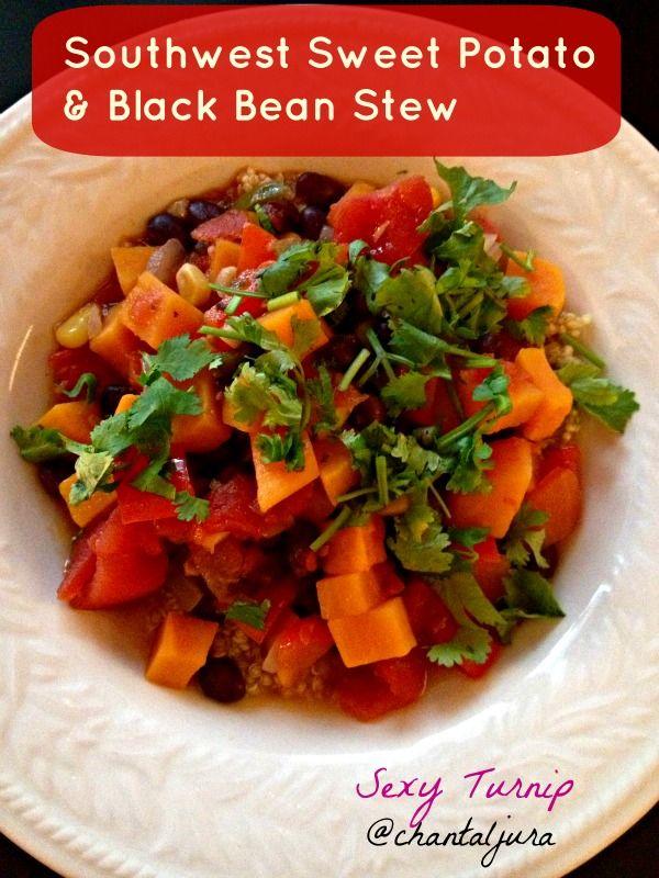Black bean stew, Stew and Black beans on Pinterest