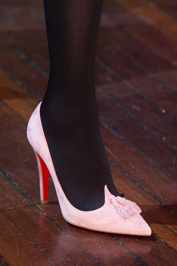 Olympia Le-Tan Fall 2015 #PFW #shoes