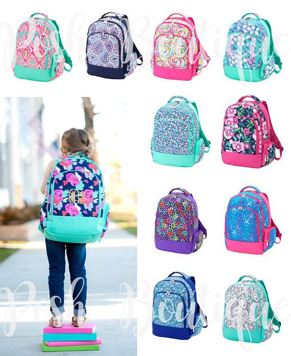 Monogrammed Backpacks S And Boys