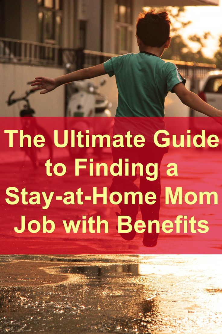 Want to stay home with your kids? Need a stay-at-home job with benefits? Don't…