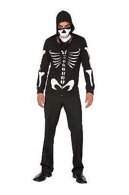 Mens Skeleton Costume