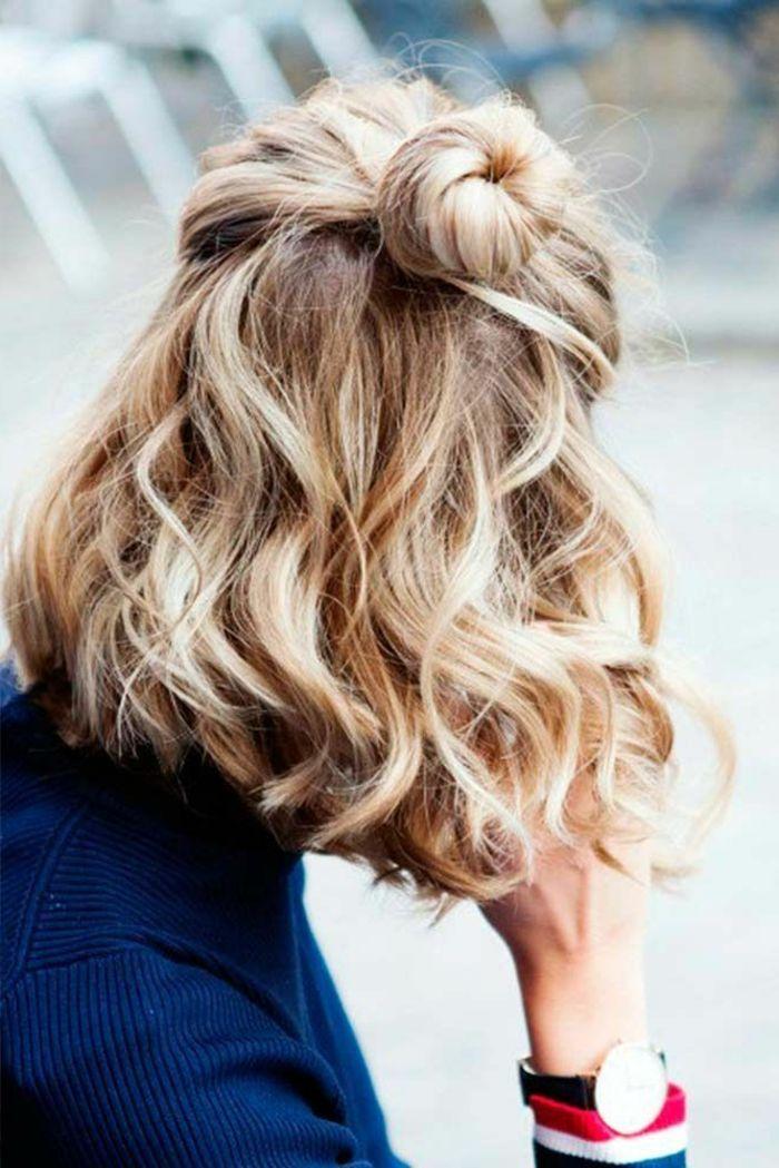 1001 Ideen Fur Kurzhaarfrisuren Fur Lockiges Haar Kurze Haare Frisieren Kurzhaarfrisuren Fur Lockige Haare Haare Frisieren