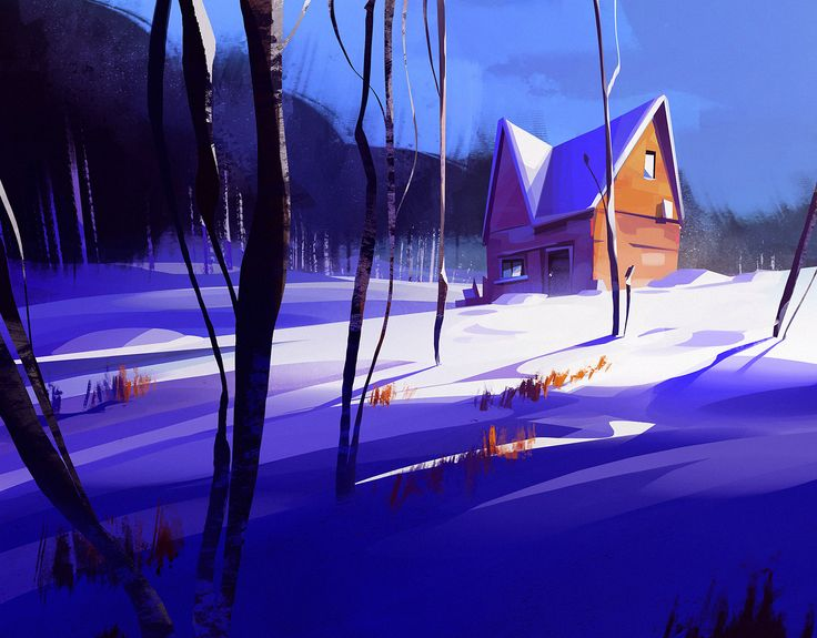 ArtStation - color sketch, Michal Sawtyruk