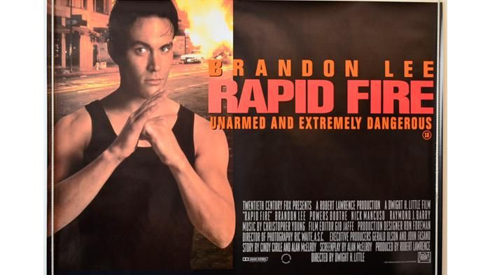 Film Rapid Fire - Sakiskan Aksi Seru Putra Bruce Lee Malam Ini, Rugi Kalau Nggak…