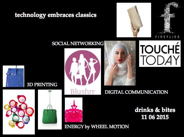 "Blushrr invites you to ""Technology embraces Classics"" :: June 11, 2015"