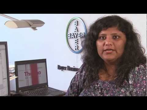 Learn how Bayer Material Science uses LIMS (laboratory information management system) to help them achieve more efficient laboratory processes, centralized data and user access and improve compliance: Mansi Desai, Technical Lead for SampleManager LIMS at Bayer Business Services, talks about how SampleManager is deployed across 6 sites in Bayer Material Science and how they've initiated an Innovation Project to stir up a cultural change in the working of Bayer laboratories.
