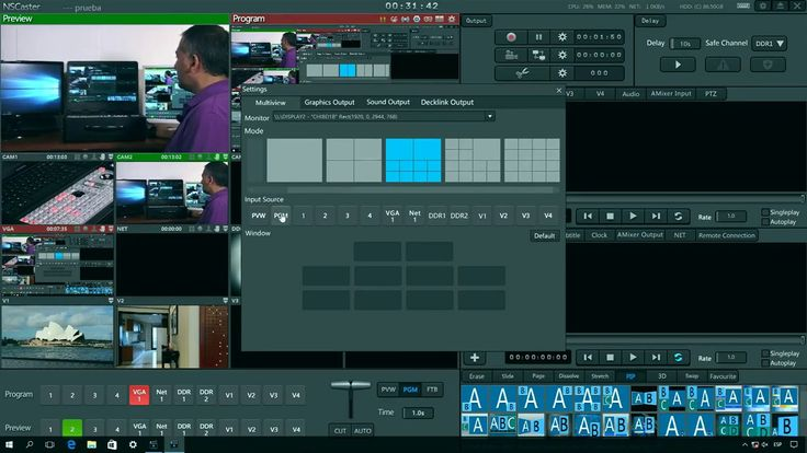 NSCaster - Funcionalidad Multiview