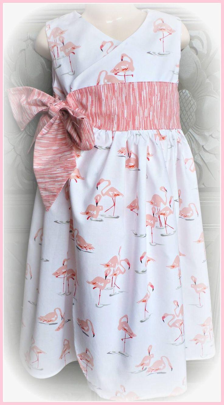Size 8 Flamingo wrap dress. $42