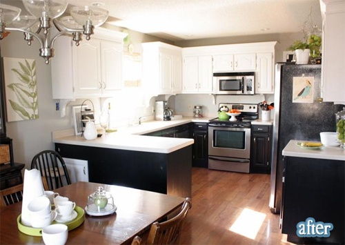 17 best images about home ideas bi level on pinterest for Split foyer kitchen