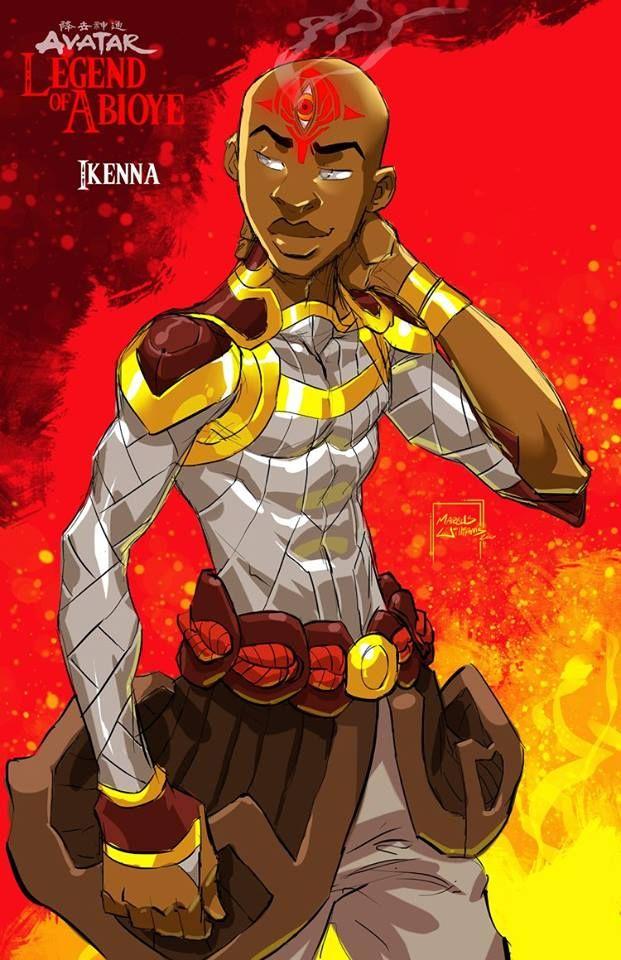 Fan Fiction Concept Avatar The Legend of Abioye (ahbih