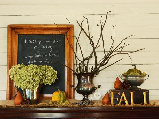 Create a Welcoming Fall Entryway : Decorating : Home & Garden Television