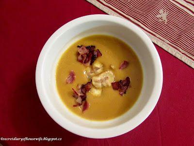 Secret diary of a housewife: Kaštanová polévka