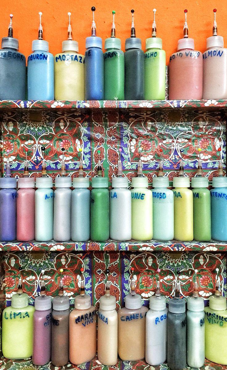 Pinta en Copas... Un lugar estupendo para pintar cerámica en Malasaña  (calle Velarde 3 en Madrid)