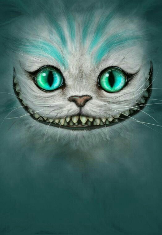 Gato de Cheshire Wallpaper