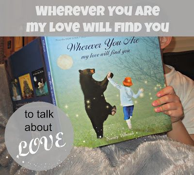 To talk about love with your kids.  How you love them.  How to show love for others.  After we read this, we wrote notes to those we love that live far away.  A simple service act.  Teach kids to serve.  #serveothers #kidsforkindness #booksonlove