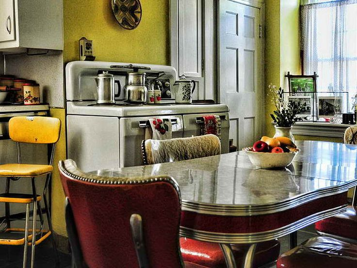 1950s Style Kitchen Captivating Of 1950SStyle Kitchen Table Images