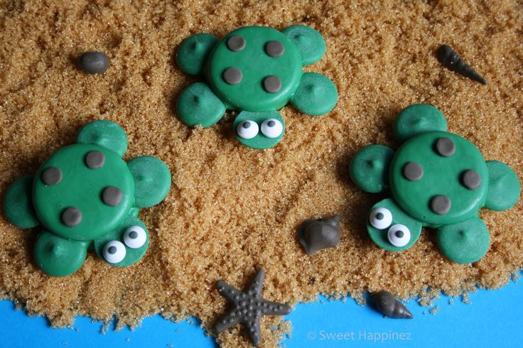 Sweet Happinez: How To | Schildpad Oreo Koekjes