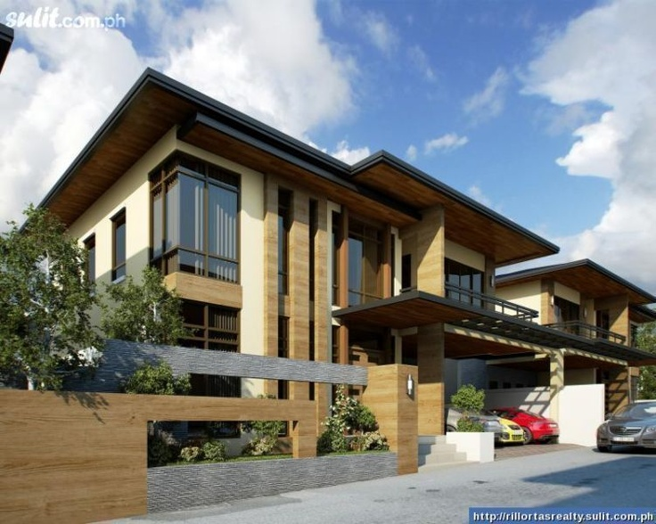 Modern japanese house design filinvest 2 brgy batasan for Modern houses in philippines